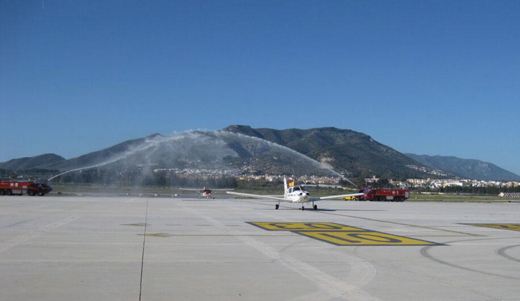 aeropuerto malaga centenario