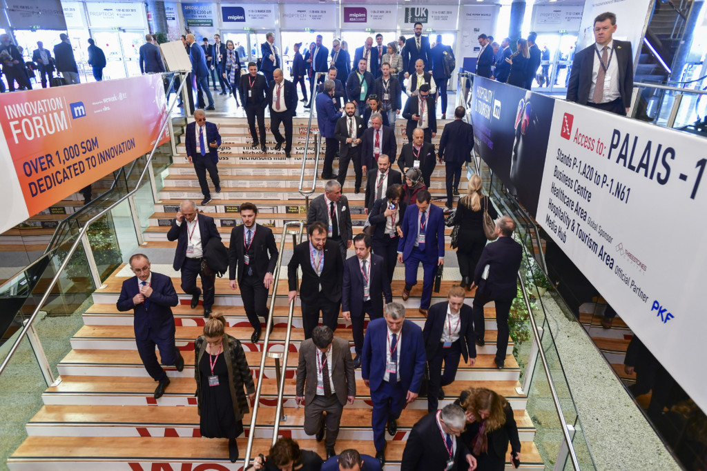 MIPIM 2019 - ATMOSPHERE - EXHIBITION AREA - INSIDE VIEW